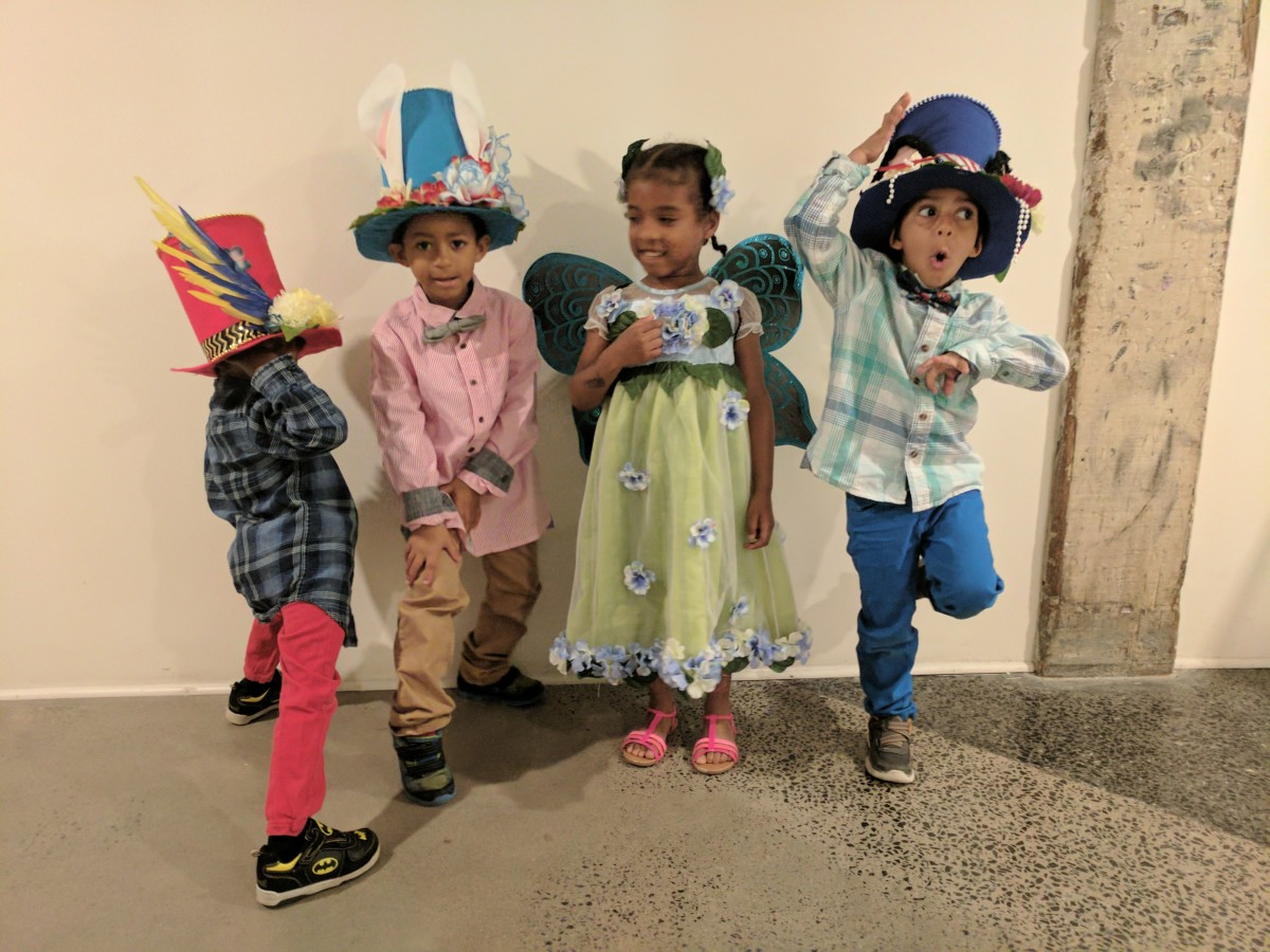 Made these hats and fairy costume seriously last minute!  The kids loved them and everyone thought they looked awesome.