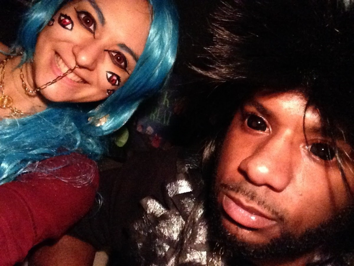 Just adding colored contacts to your costume can bring it to a new level.