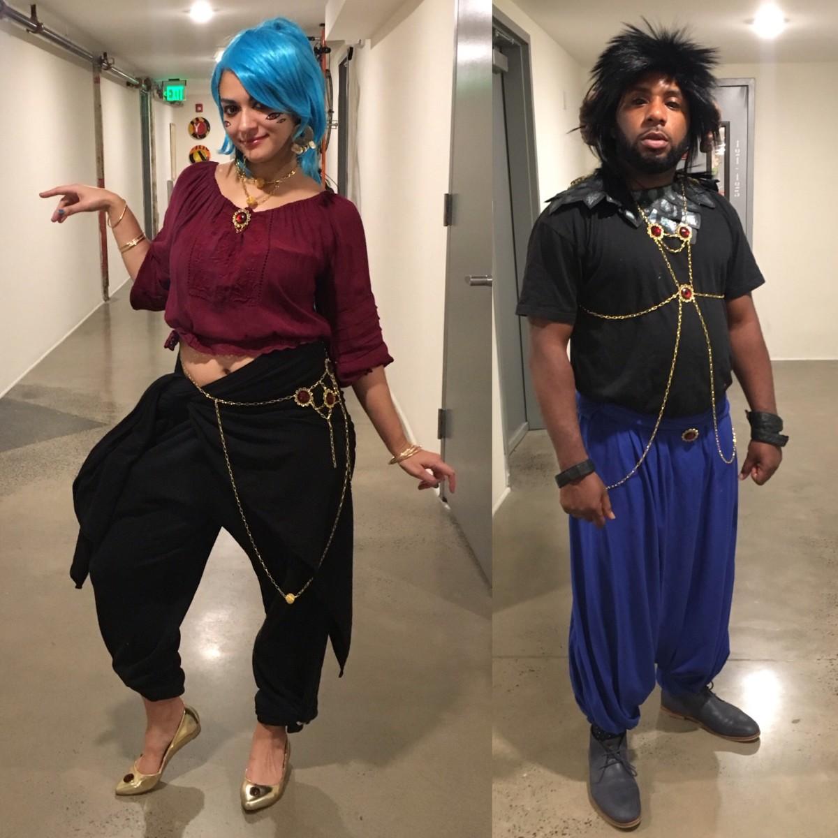 Djinn outfits