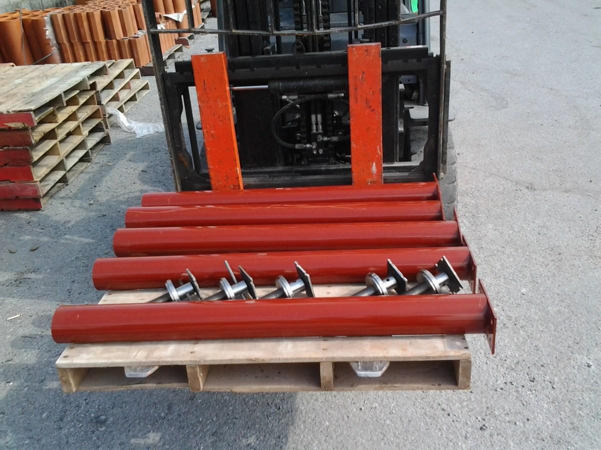 4 Adjustment Range Adjustable Steel Building Column 3.5 OD 11 Gauge