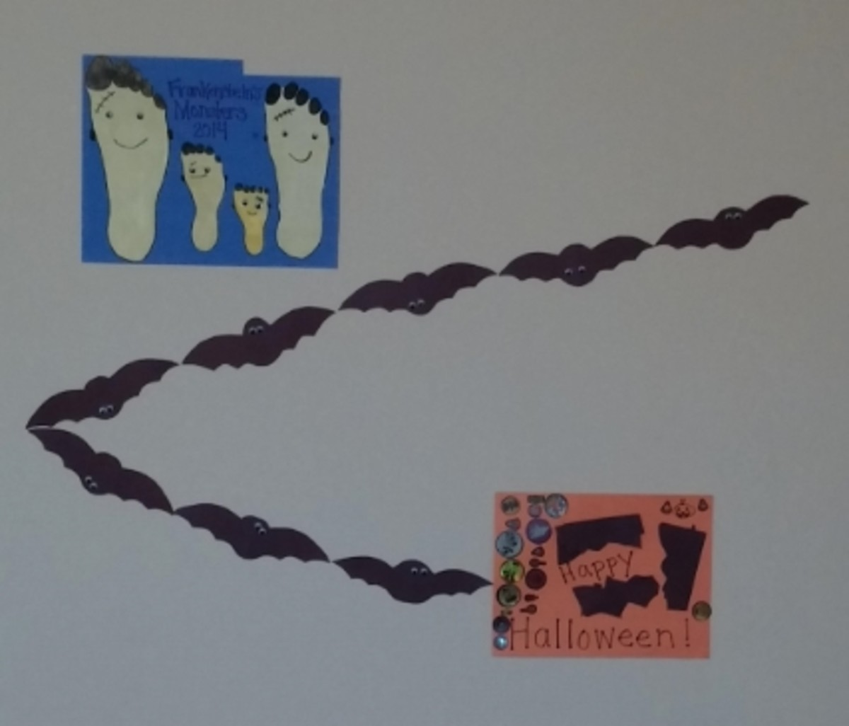 Fun Halloween Decorations on our Walls