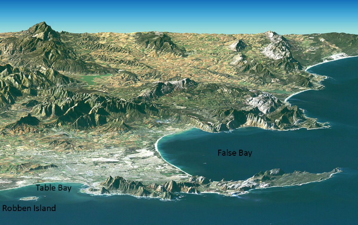 False Bay, South Africa