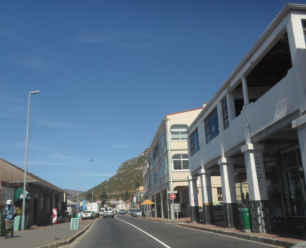 Kalk Bay, Cape Peninsula, South Africa