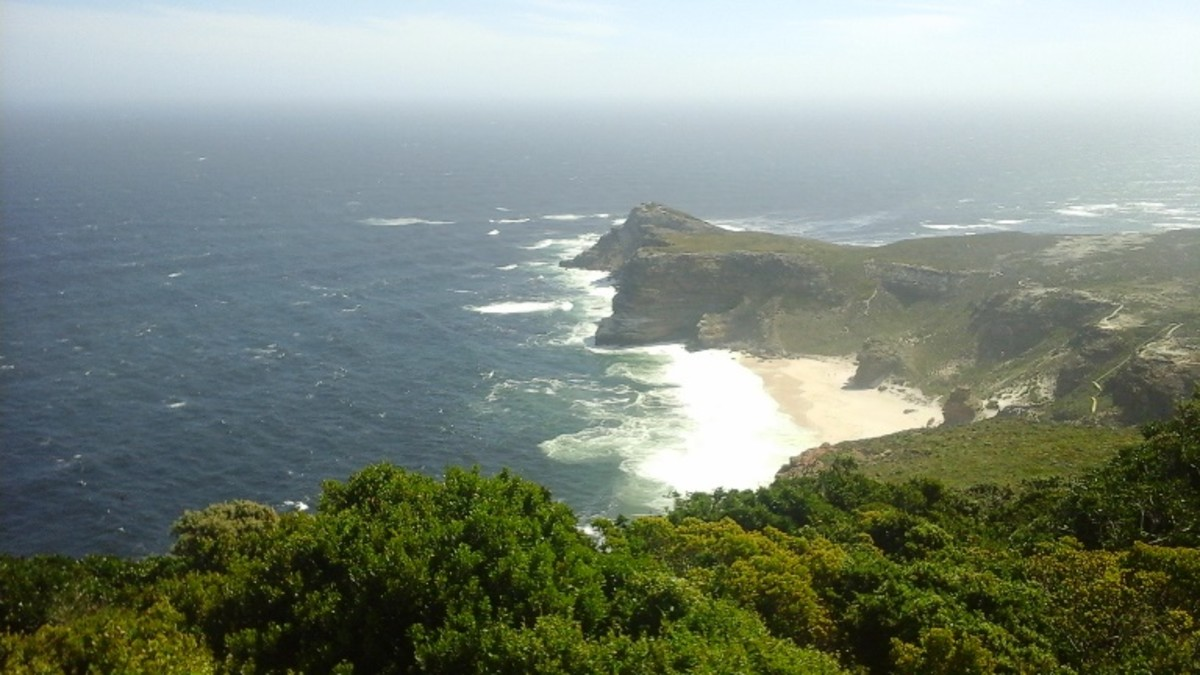 Dias Beach at Cape Point, South Africa