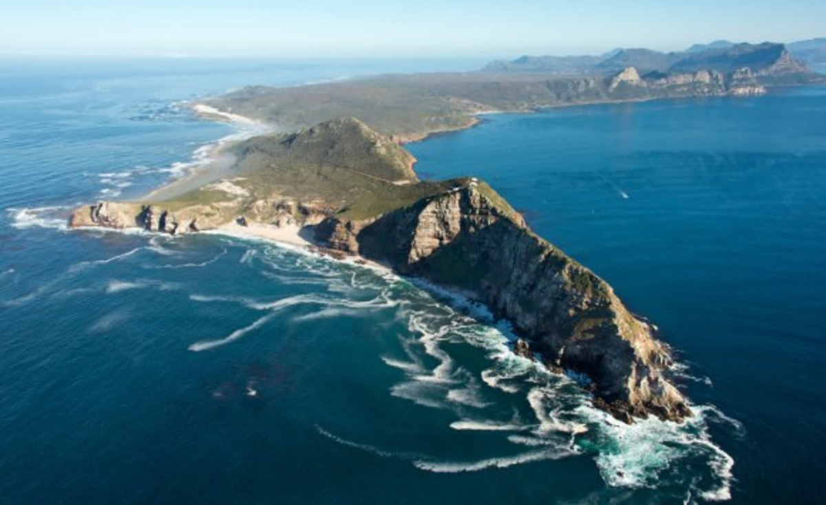 Travel in South Africa - the Cape Peninsula - from Muizenberg to Cape Point