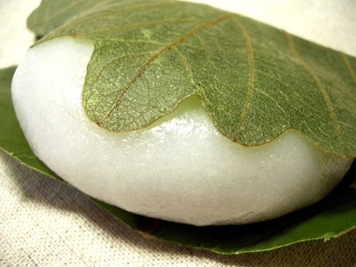 Rice Cake Wrapped in Leaf (Photo courtesy by Kanko* from Flickr.com)