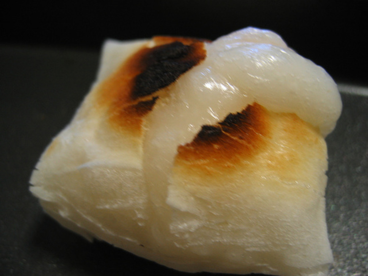 Roasted Rice Cake (Photo courtesy by imgdive from Flickr.com)