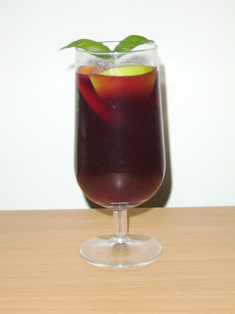 A Large Glass of Sangria