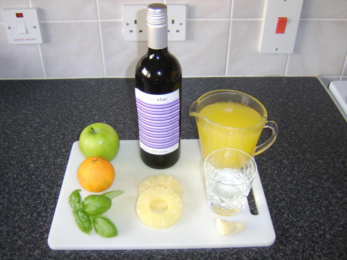Easy Recipe for Spanish Sangria