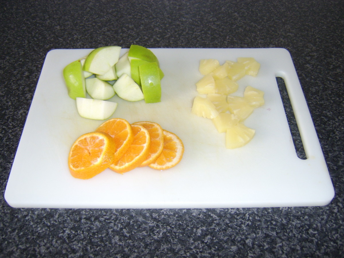 Fruit Chopped and Sliced