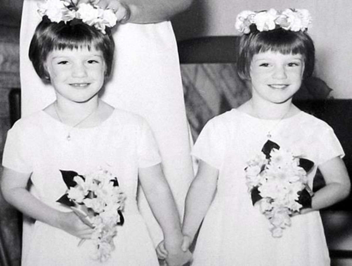 Flower girls for my cousin's wedding