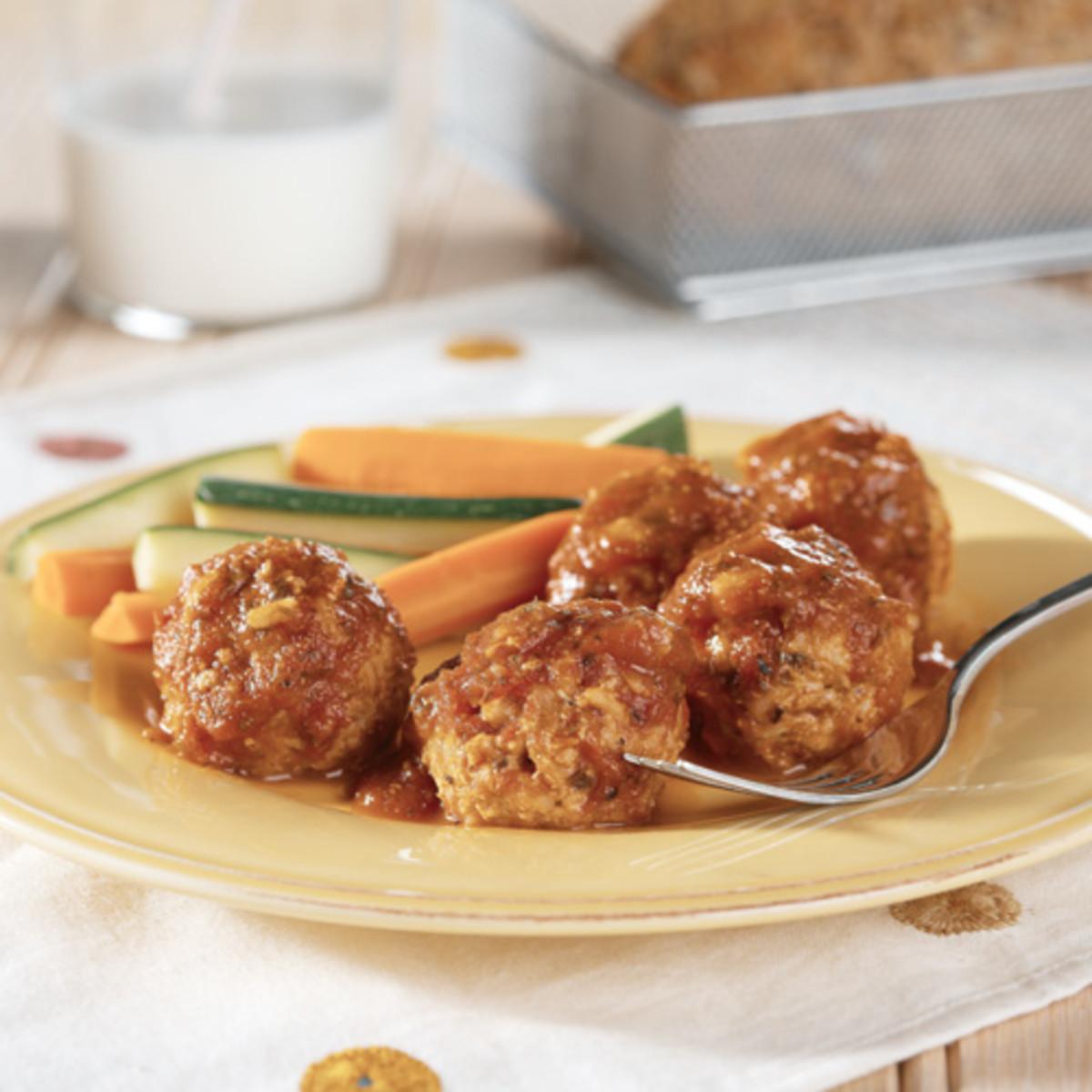 Delicious Porcupine Meatballs