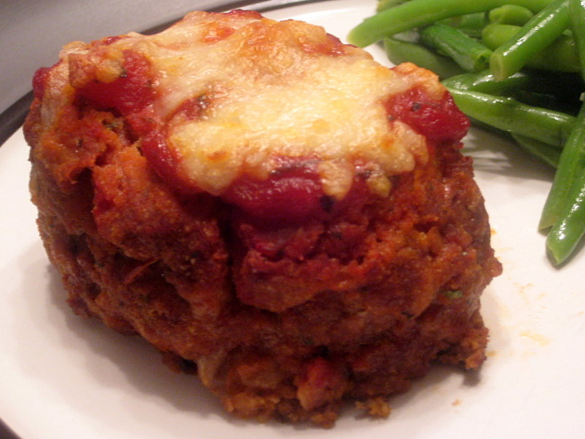 Meatloaf marries mozzarella for a tasty dish