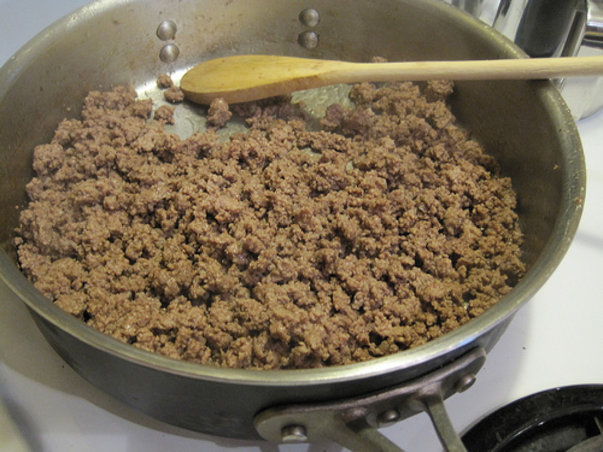 Brown some ground beef and dinner is right around the corner (image from aMichiganMom on Flickr)