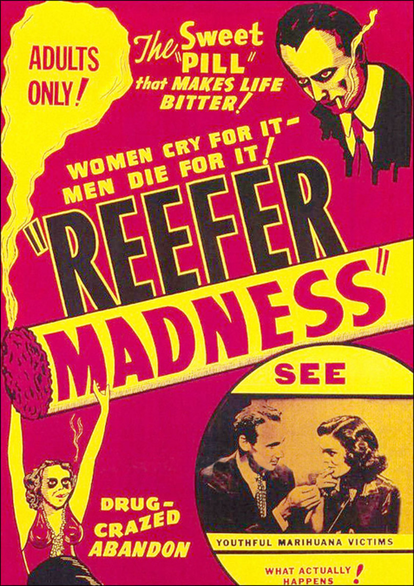 Cast: Dorothy Short Lillian Miles Dave OBrien Thelma White This 1935 propaganda flick was supposed to scare the crap outta wannabe potheads, but Reefer Madness instead became a cult classic. Watch what happens when you smoke marijuana  the horror! Th