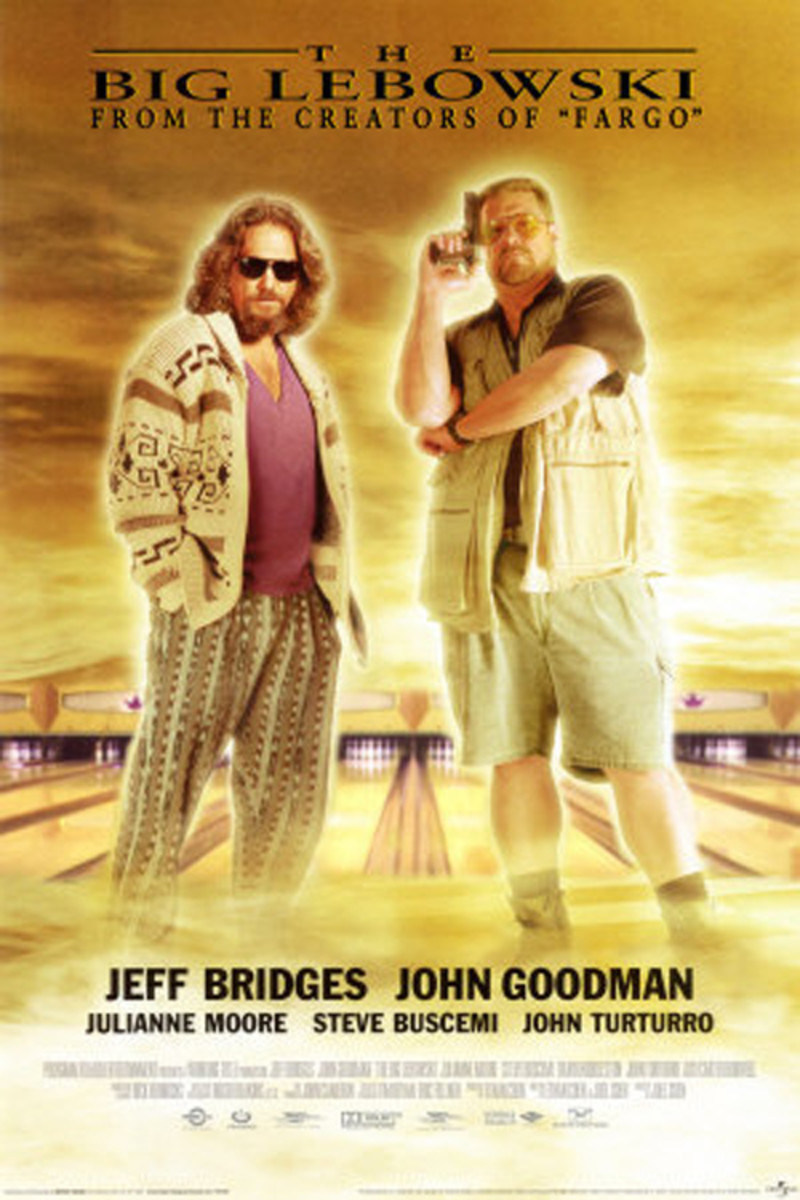 Cast: Jeff Bridges John Goodman Steve Buscemi Julianne Moore The Big Lebowski delivers more than stoner one-liners, giving thoughtful consideration to what it is that makes The Dude (played with laid-back precision by Jeff Bridges) tick. While plenty