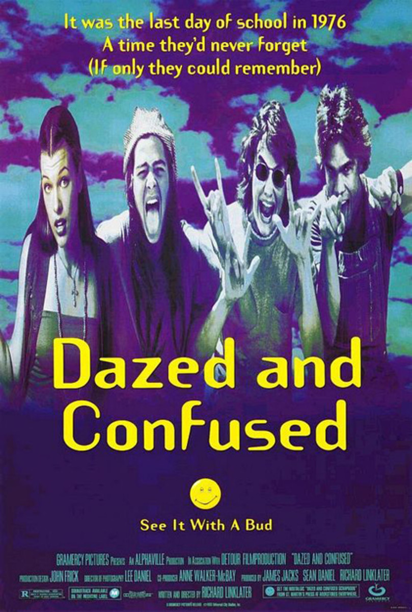 Cast: Jason London Rory Cochrane Adam Goldberg Matthew McConaughey Milla Jovovich Ben Affleck Parker Posey It doesn't get much better than this  following 70s era high school kids on their last day of school. Dazed and Confused is more than getting h