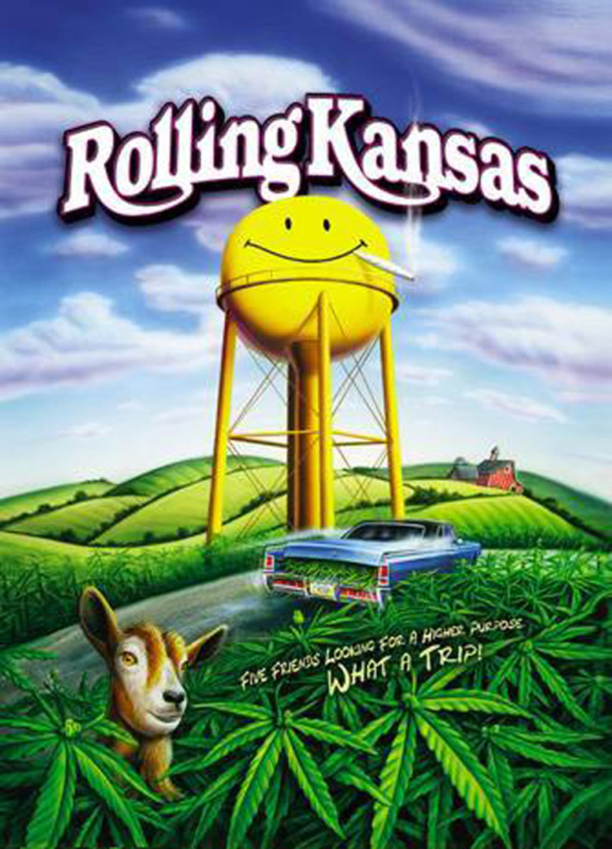 Cast: James Roday Sam Huntington Jay Paulson Charlie Finn Directed and co-written by actor Thomas Haden Church (of TVs Wings and the movie Sideways), Rolling Kansas looks at three brothers (and their friends) quest for a magical marijuana forest that