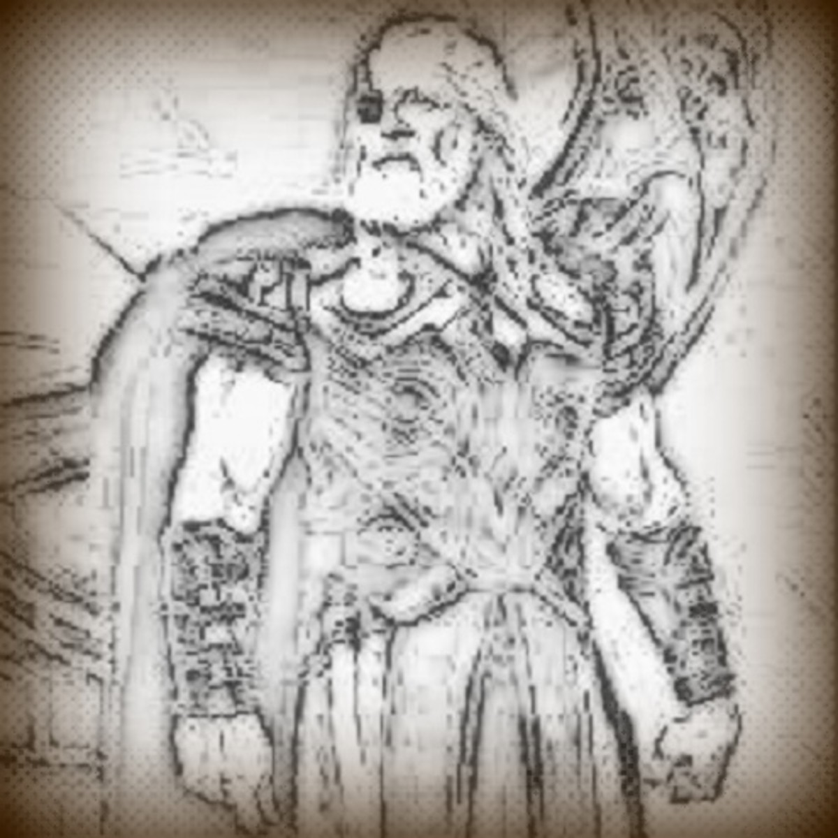 Odin has been depicted throughout history as a wise god. Anthony Hopkins recently played Odin in the Thor movies.