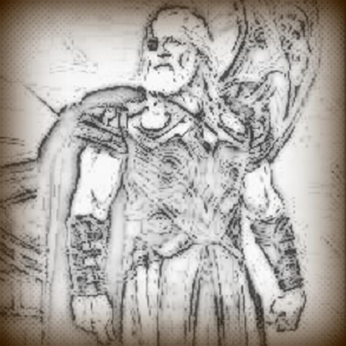 Odin, Lord of Asgard.