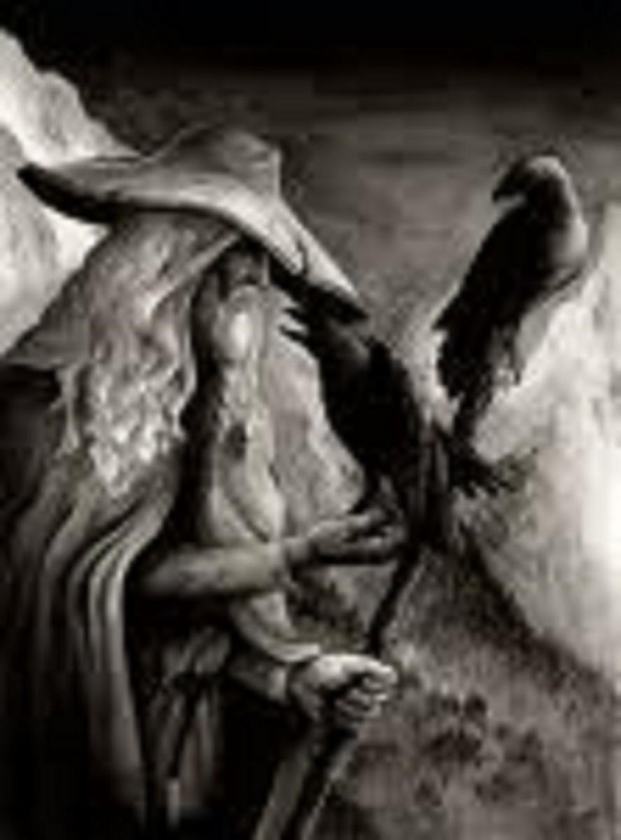 Norse Gods Chart
