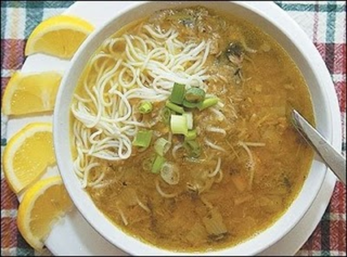 Exotic Soups from Burma (Myanmar)