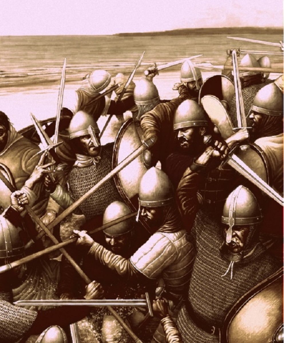 The Vikings gained much from their aggressive actions across Europe