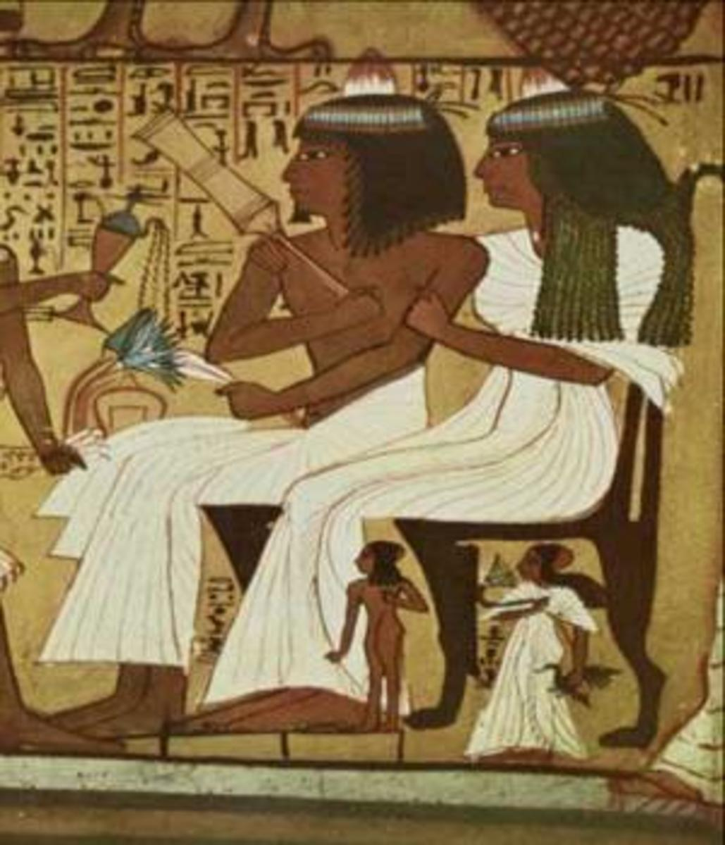 Ancient Egyptian- High Priestess who worked in the temples