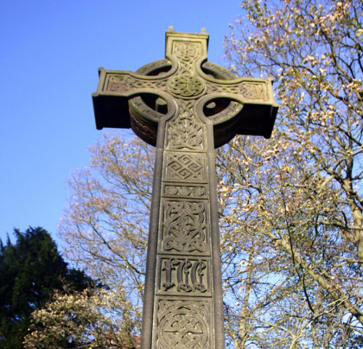 Albion Celtic cross.