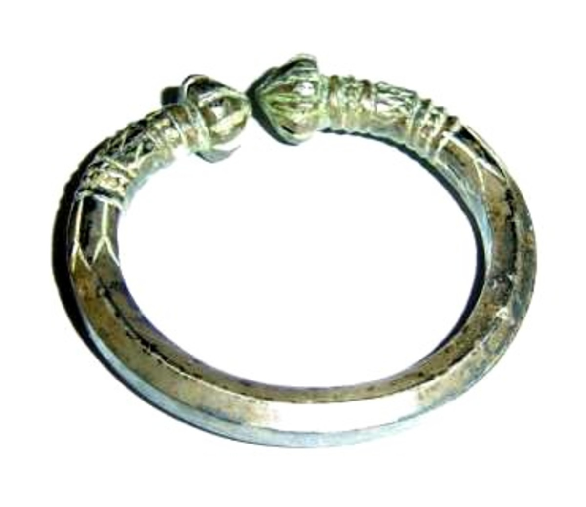 Celtic torc ring.