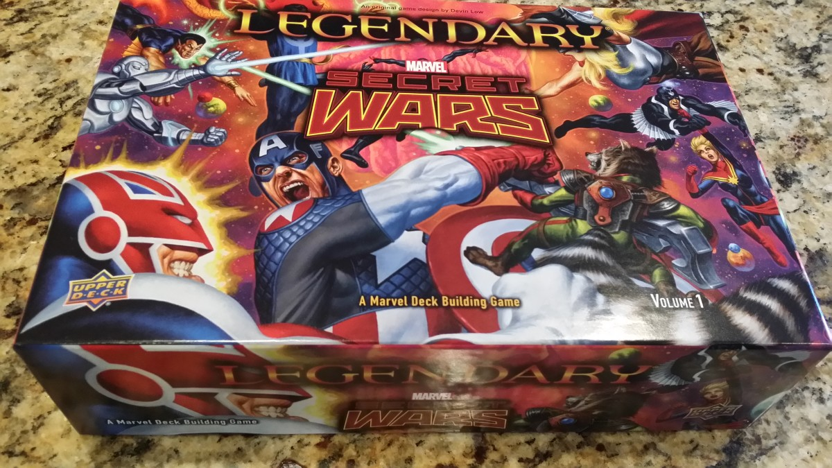 Board Game Review: Legendary Marvel: Secret Wars Vol. 1