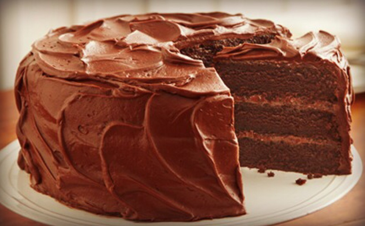 For Decoration : just take a spoon and swirl it around on the cake.