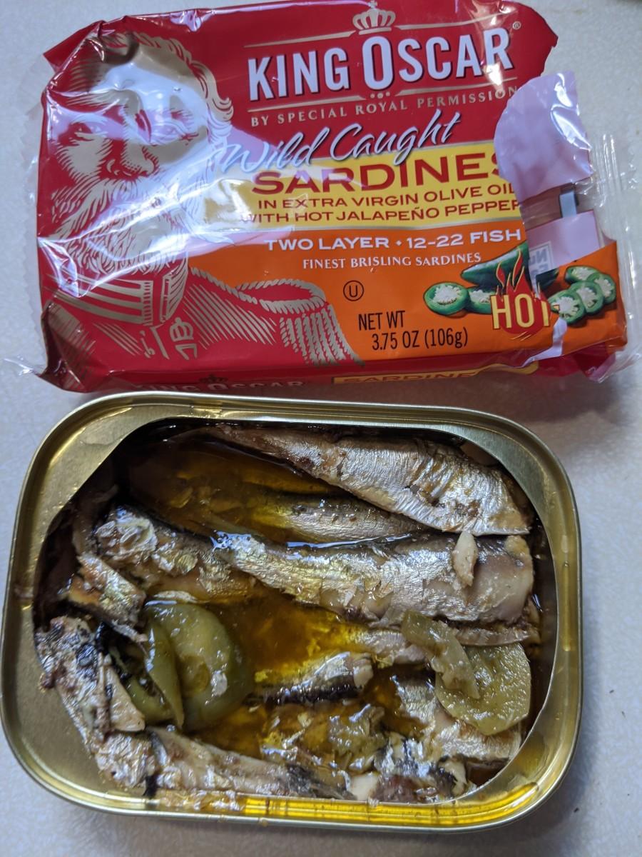King Oscar Wild Caught Sardines with Jalapenos