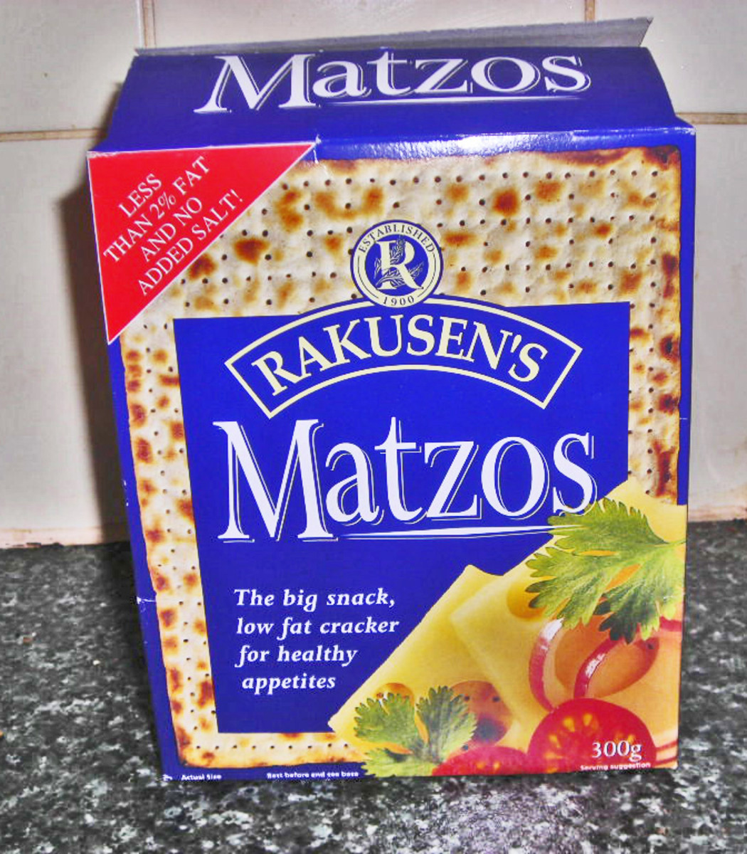 Matzo is a traditional unleavened bread