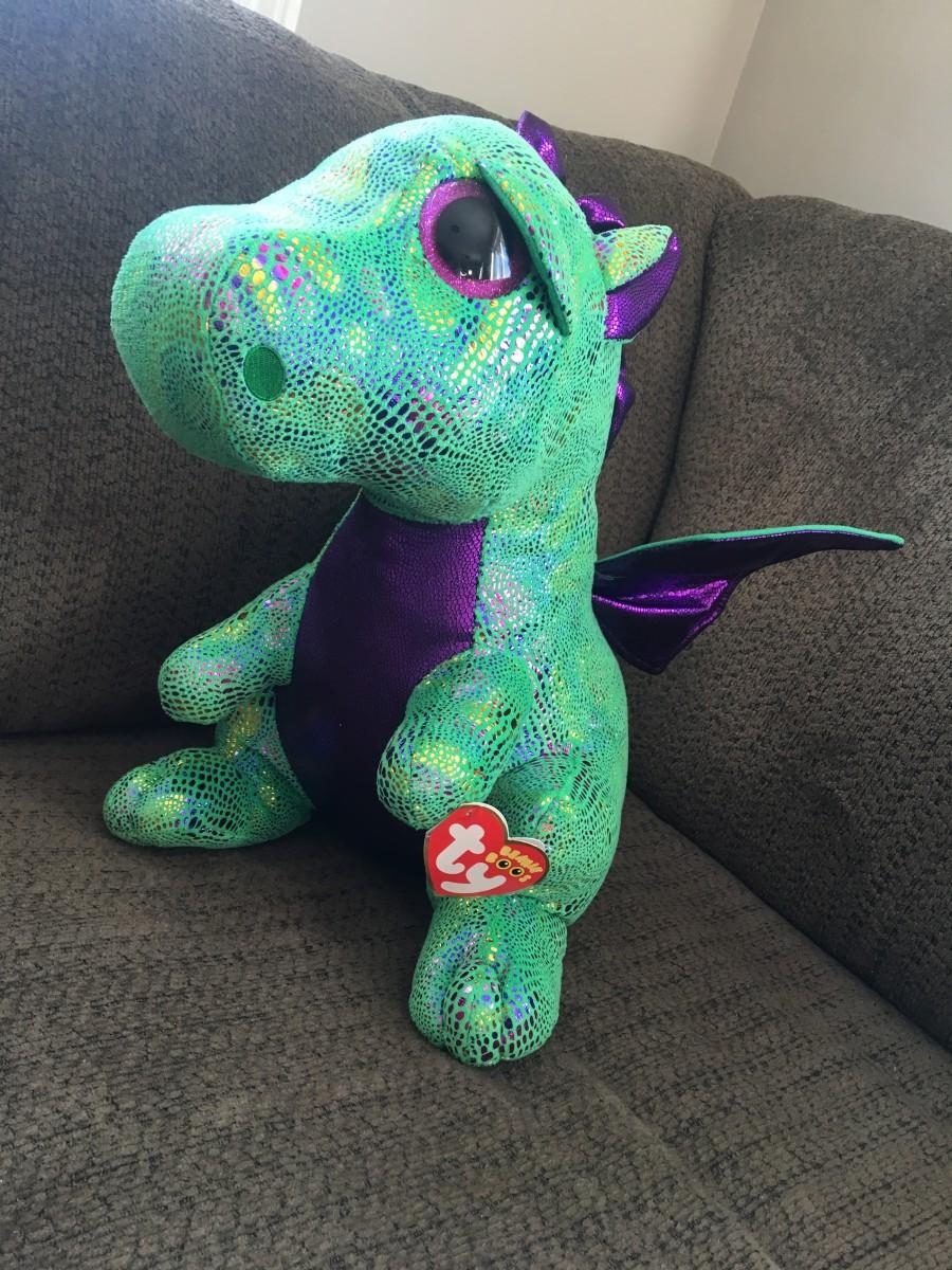 Ty Beanie Baby Dragon & Dinosaur Babies
