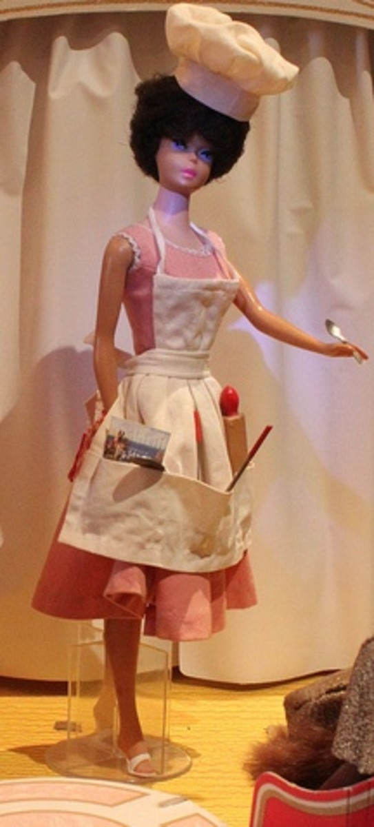 Barbie in Barbie-Q Outfit