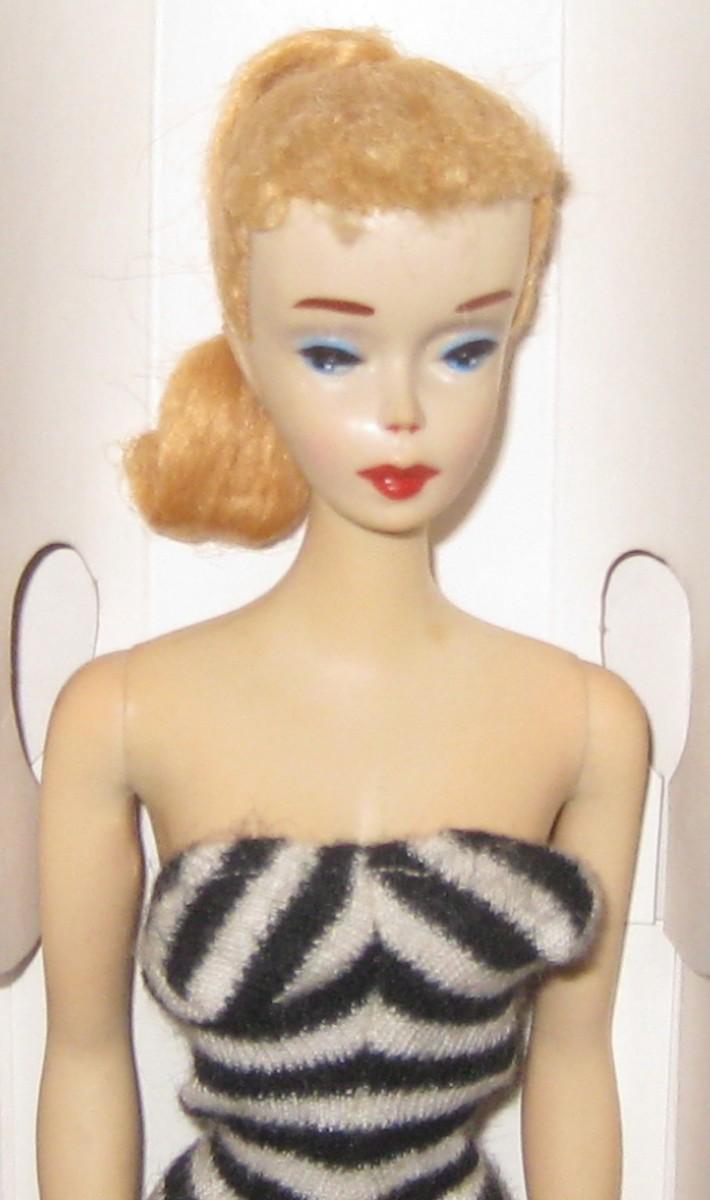 Number Three Ponytail Barbie