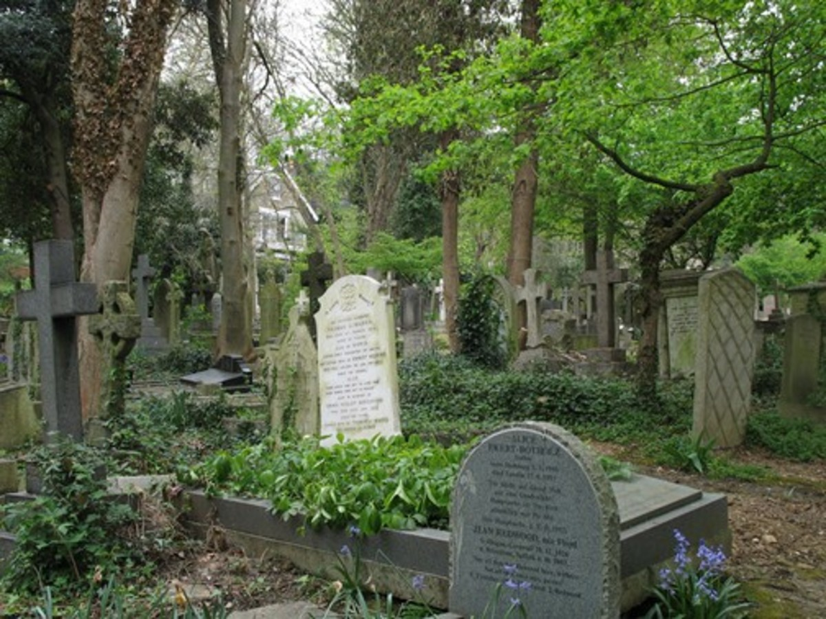 Highgate Cemetery is a cemetery located in Highgate, London, England.