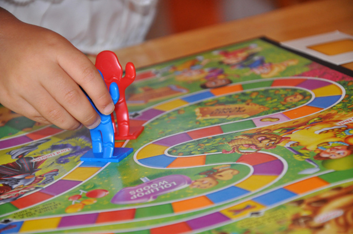 Board Games for  3- to 8-Year Old Children