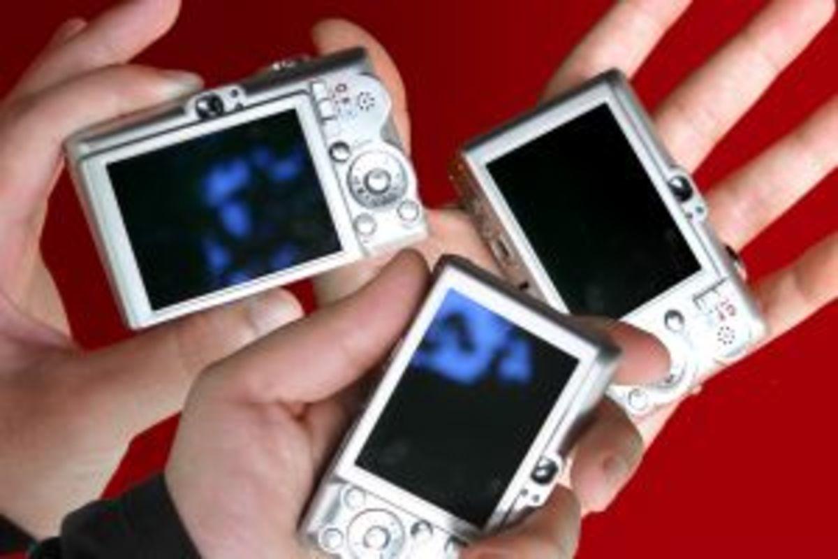 digital cameras for photo scavenger hunt