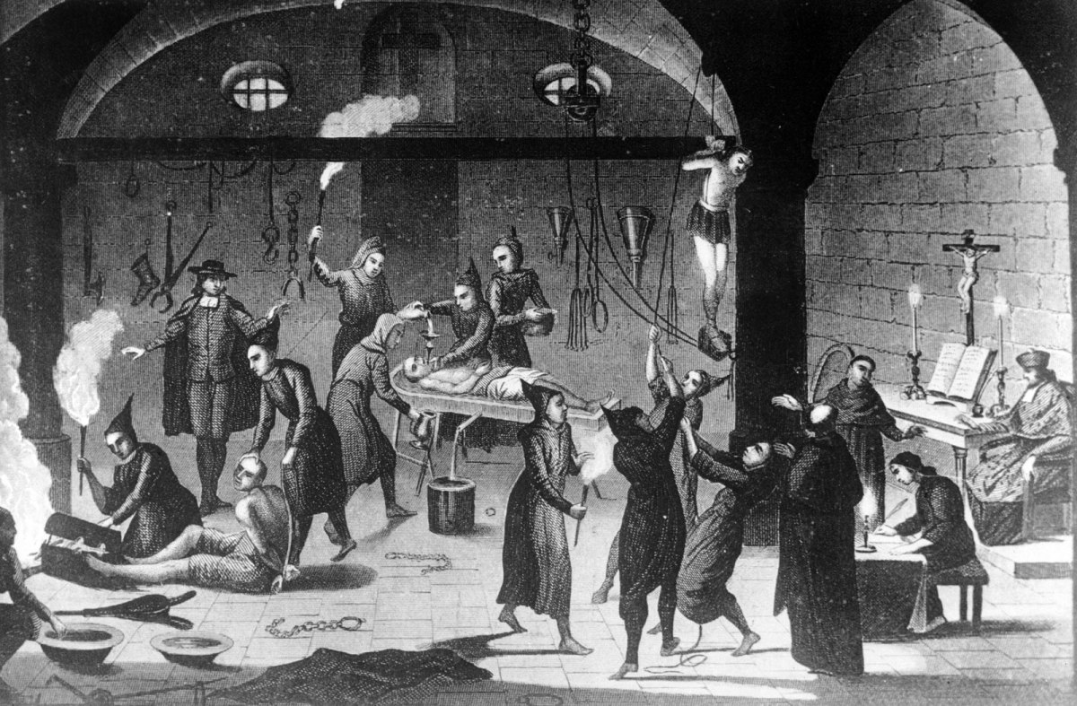 Torquemada's Spanish Inquisition:  From Suspicion to Death
