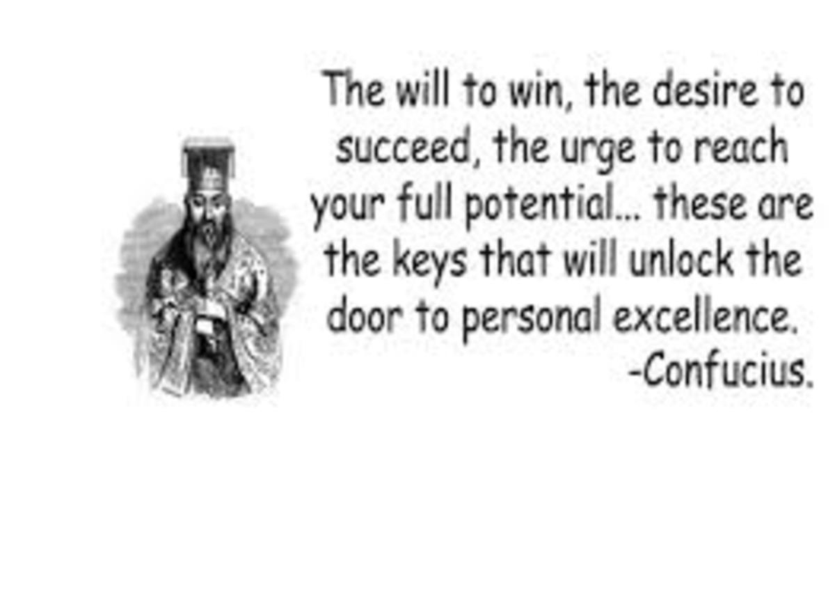 Confucius saying