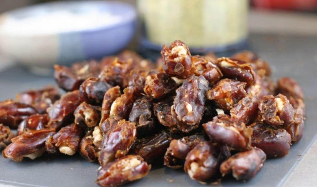 chopped dates