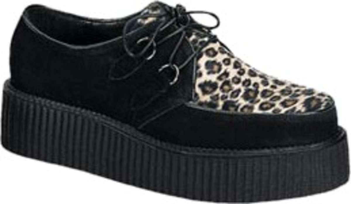 The crepe-soled shoe or brothel creeper