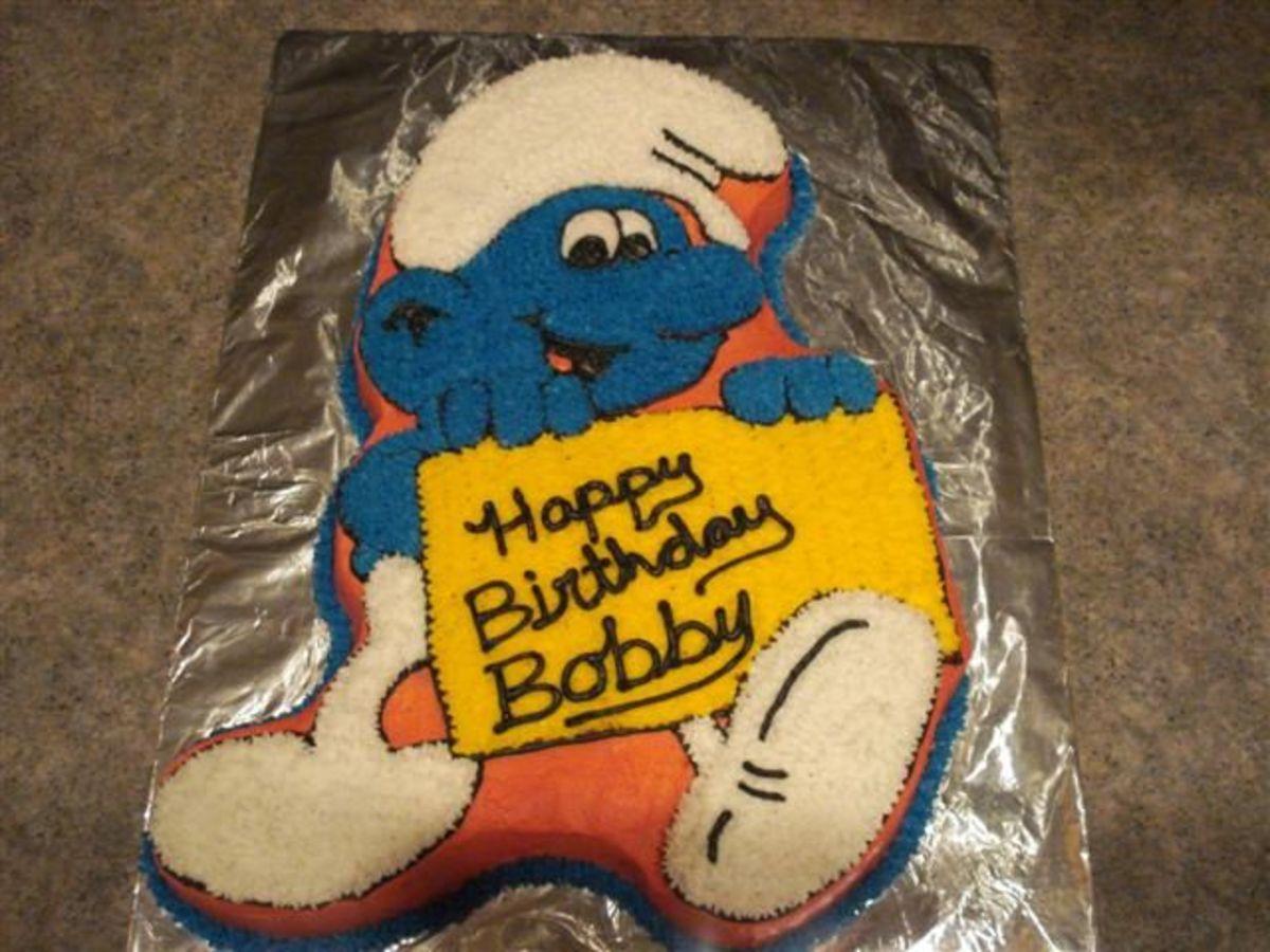 Smurfs Birthday Cake And Cupcake Ideas Hubpages