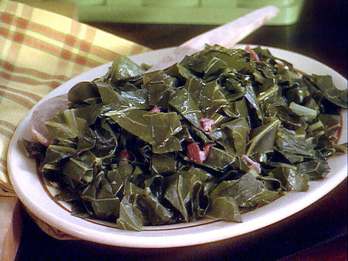 Southern Cooking , Collard Greens