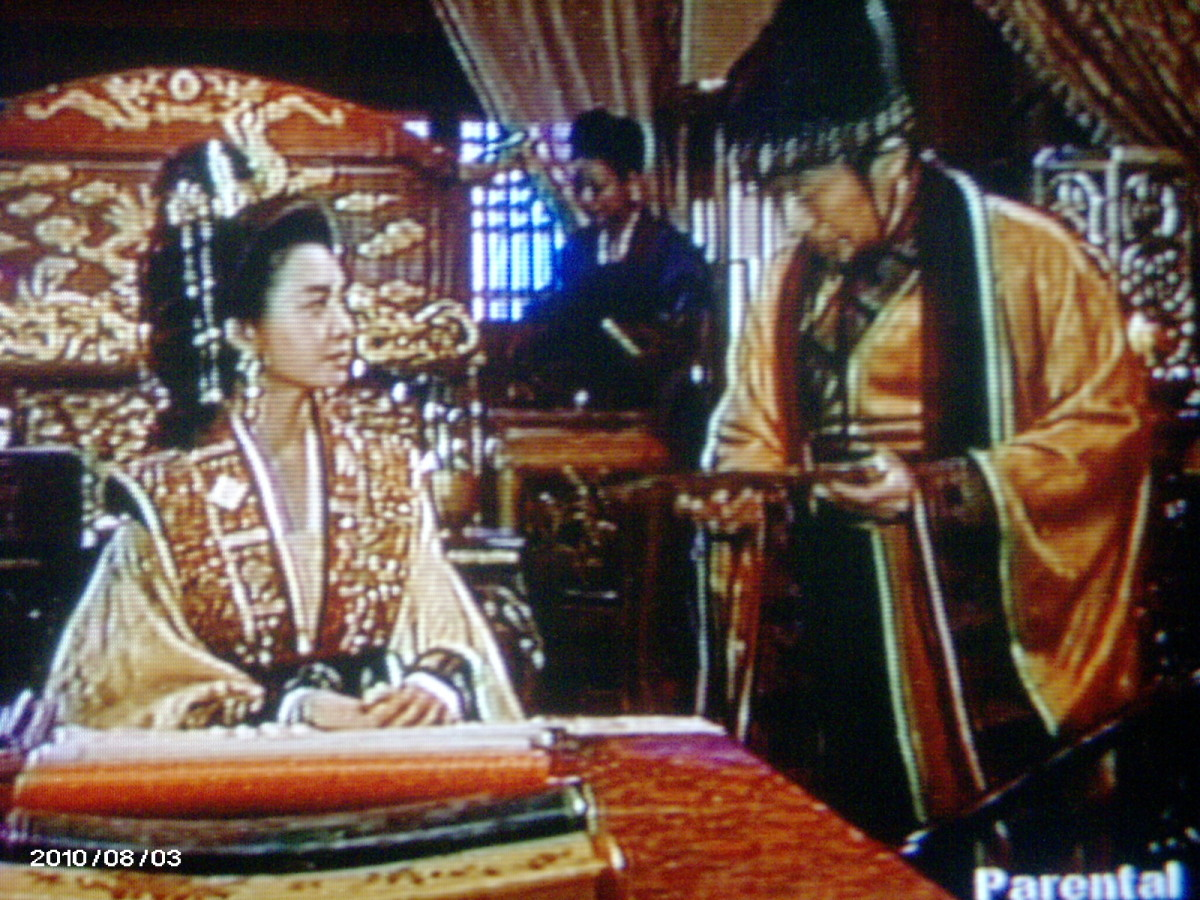 she ordered jukbang to deliver the letter to Bidam...