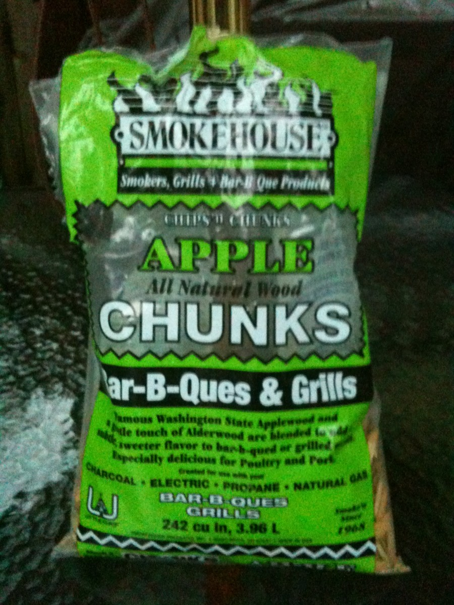 Wood chips for smoke flavor