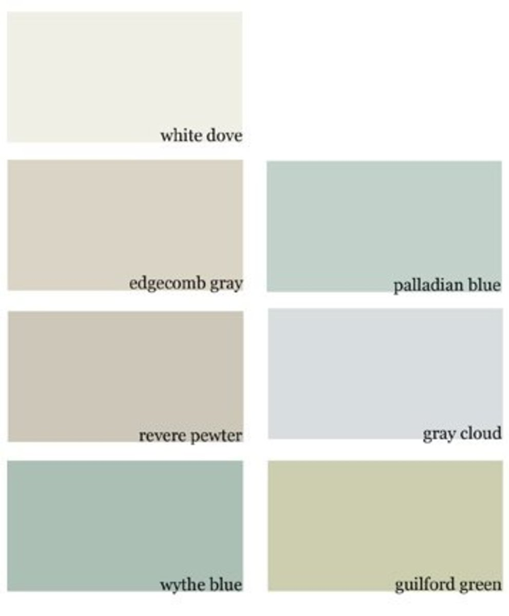 Revere Pewter is said to go with any other color