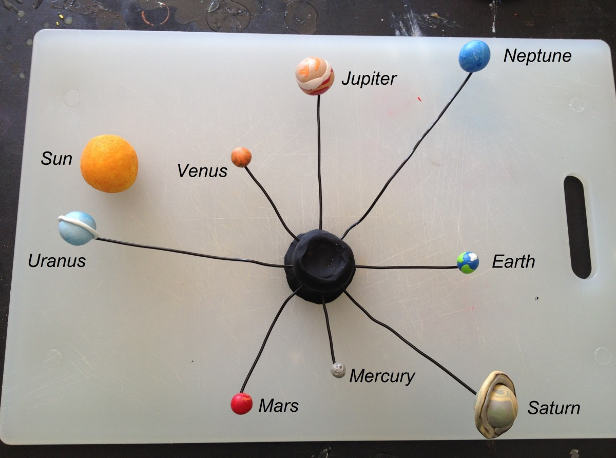 how to make planets out of paper